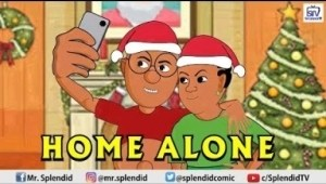 Video: (Animation): Splendid TV – Home Alone, Akpors and Rukewe